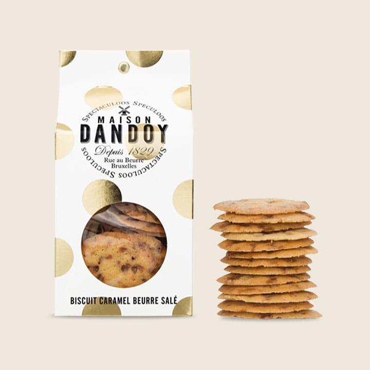 Biscuits au caramel beurre salé Maison Dandoy