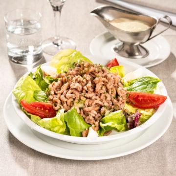 Salade de crevettes grises d'Ostende